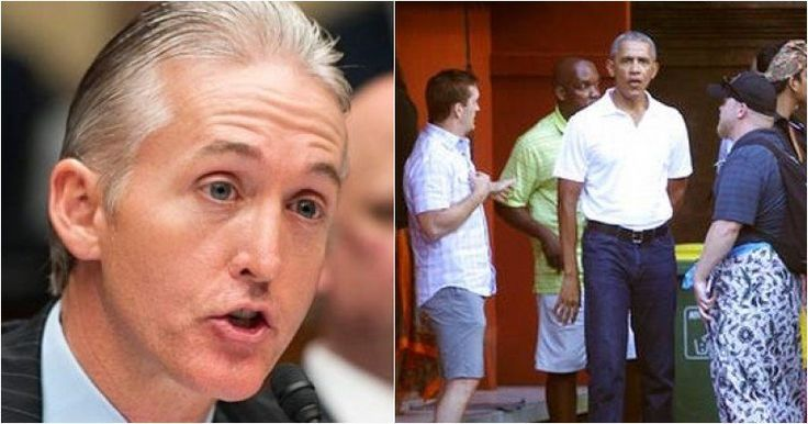 Obama Tries To Pull Fast One On Trey Gowdy In Indonesia With Michelle Nowhere To Be Found