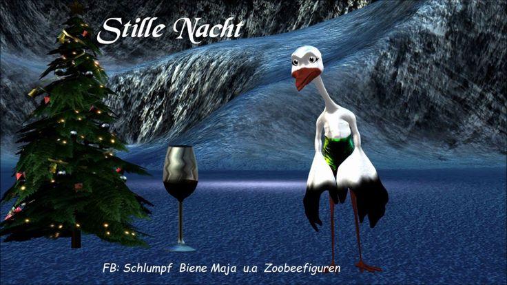 WeihnachtenFrohes FestStille Nachtbesoffener StorchSilent NightWeih...