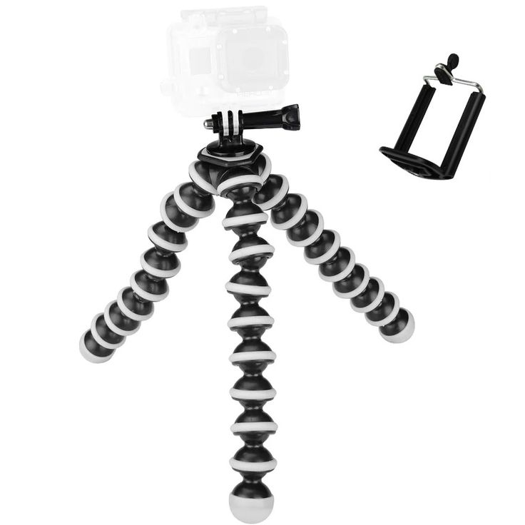 Large Octopus Flexible Tripod Stand Gorillapod for Gopro Hero 4/ 3+/ 3 sj40/Camera Digital DV Canon Nikon Mobile Phone //Price: $17.27 & FREE Shipping //     #Streaming