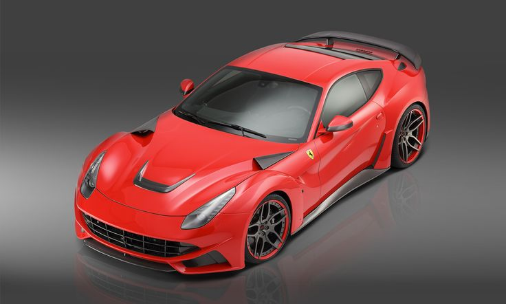 Ferrari F12 N-Largo wide body kit.