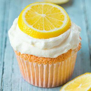 Капкейки с лимонным кремом без муки и сахара!