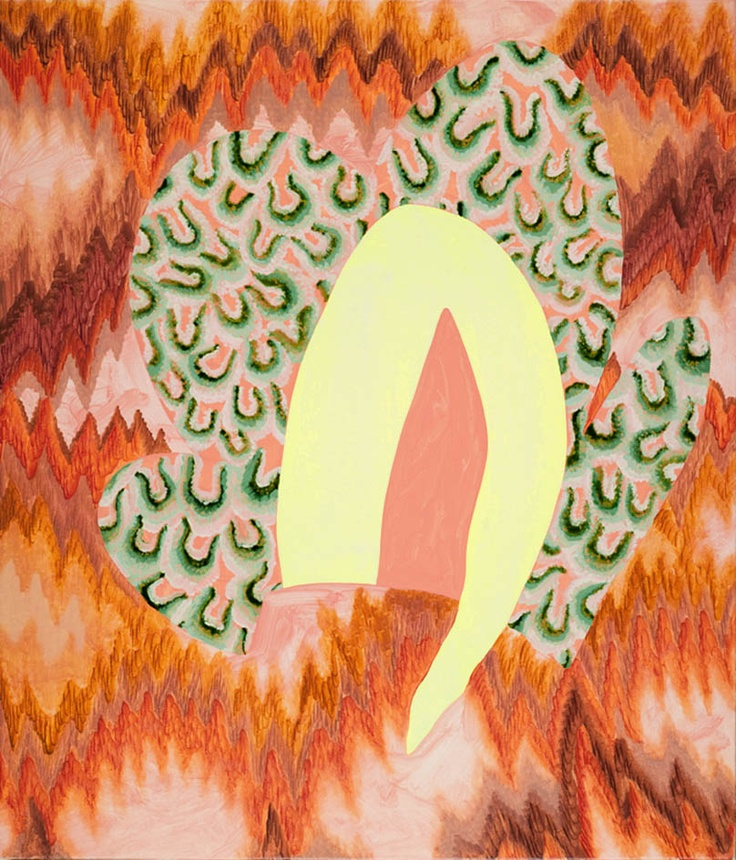 Amber Wilson, Flambe Memorial, 2010, Oil on canvas