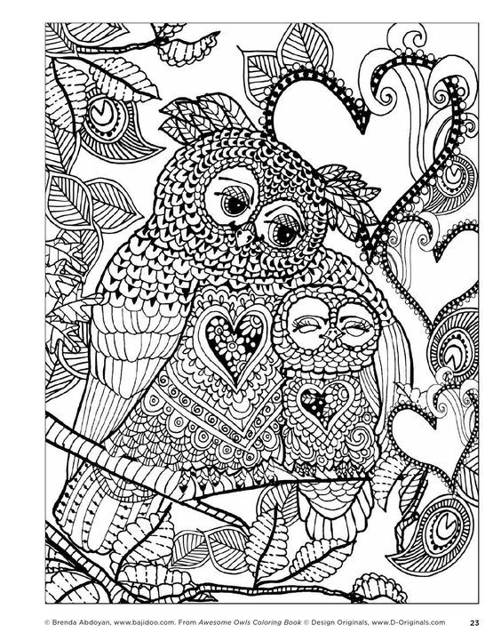 awesome owls coloring book by fox chapel publishing issuu see my owl board for more rosalie