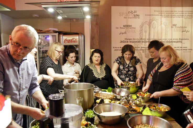Literackie Kulinaria z Nike Farida w Restauracji Malika.