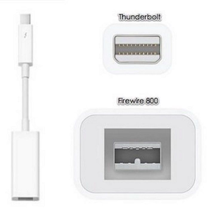 Apple OEM Thunderbolt to Firewire 800 Adapter