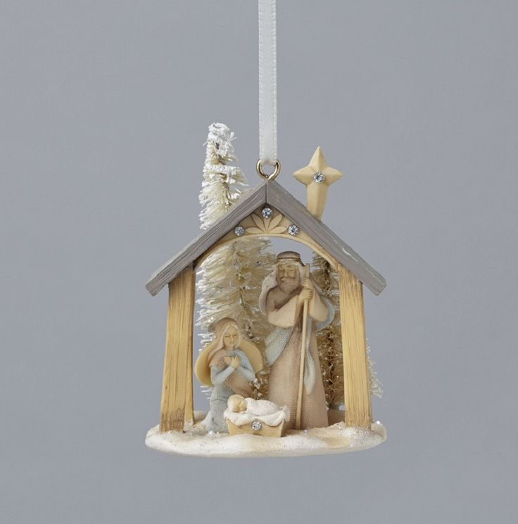 Holy Family With Angel Hair Glass Ornament: 7320 Best Belenes-nacimientos Images On Pinterest