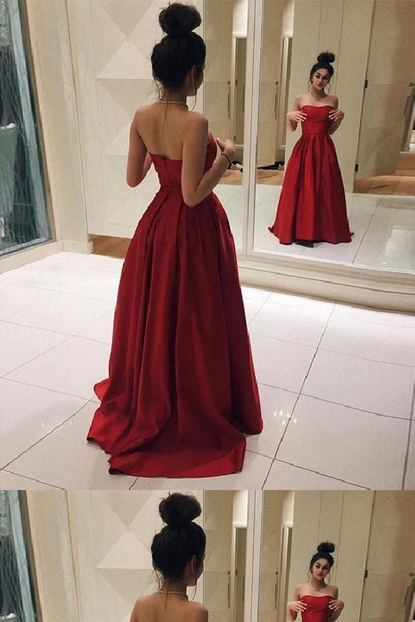 5a75135b365 Comely Simple Prom Dress