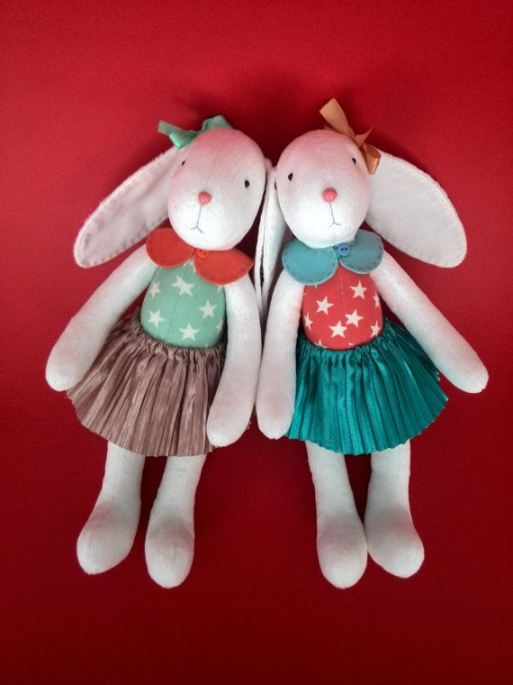 333 best etsy images on pinterest cushions decorations and felt gift for sisters personalized baby gift personalized toys stuffed toys kids toys daughter gift bunny doll plush toy rag doll stuffed animals negle Choice Image