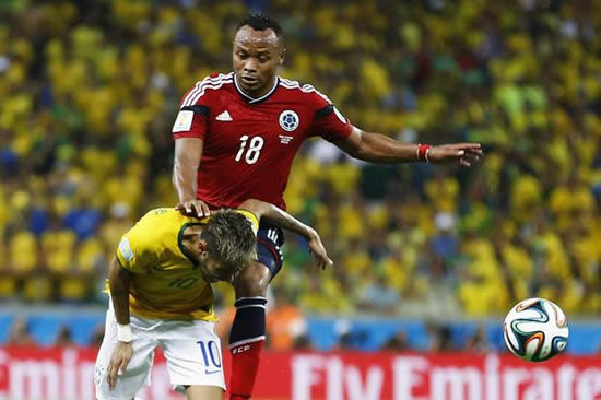Racist death threats sent to Juan Zuniga after Neymar injury - See more at: http://www.soccercentury.com/news/gossip-news/952-racist-death-threats-sent-to-juan-zuniga-after-neymar-injury&Itemid=9999#sthash.YCk4PYz7.dpuf
