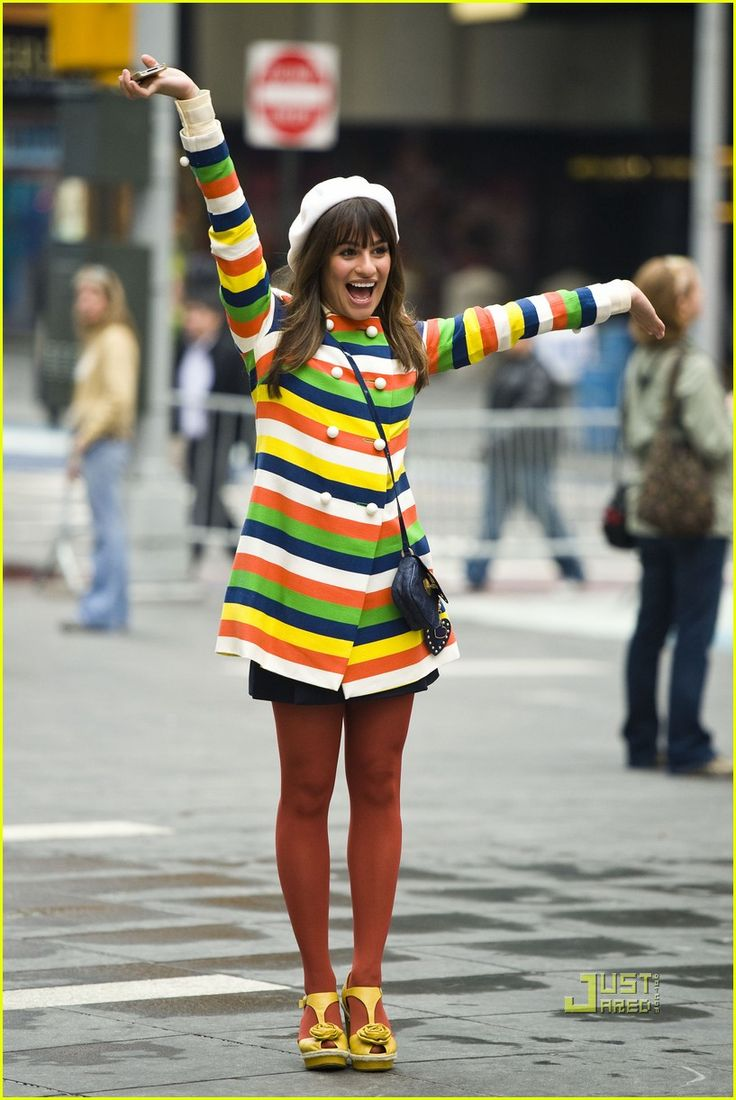 Rachel: Glee Rachel Berries, Stripes, People