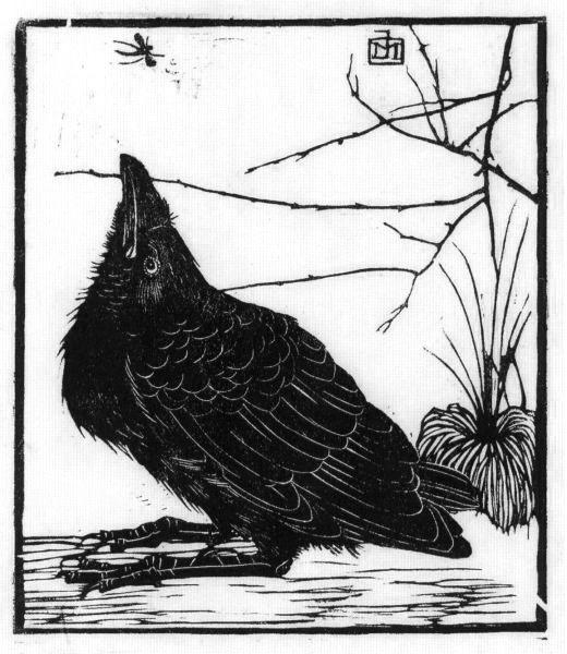 Jan Mankes. The raven