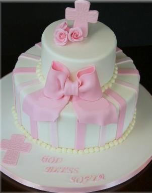 tortas de bautizo niñas - Buscar con Google
