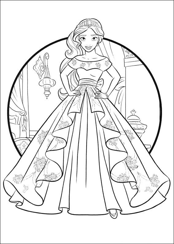 Elena Of Avalor Coloring Pages Best Coloring Pages For Kids Princess Coloring Pages Disney Coloring Pages Coloring Pages