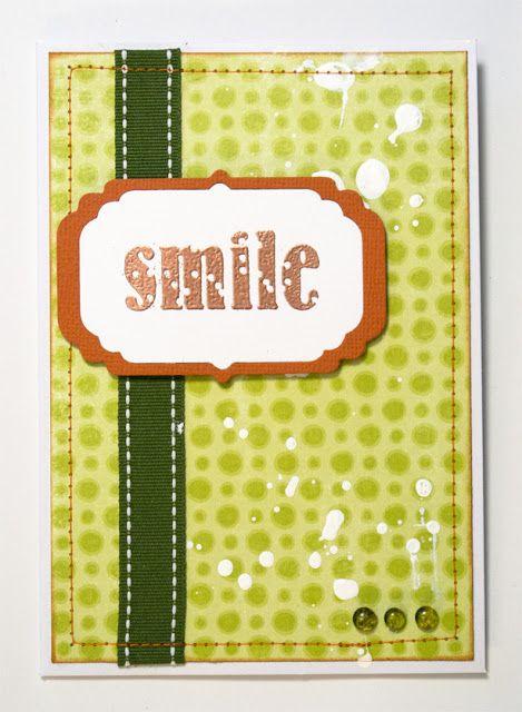 Take no. 4: Die used: Sizzix Framelits Die Set 4PK - Frames, Decorative