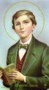 Profecías y  sus Profetas: Santo Domingo Savio - Estudiante - (1857)