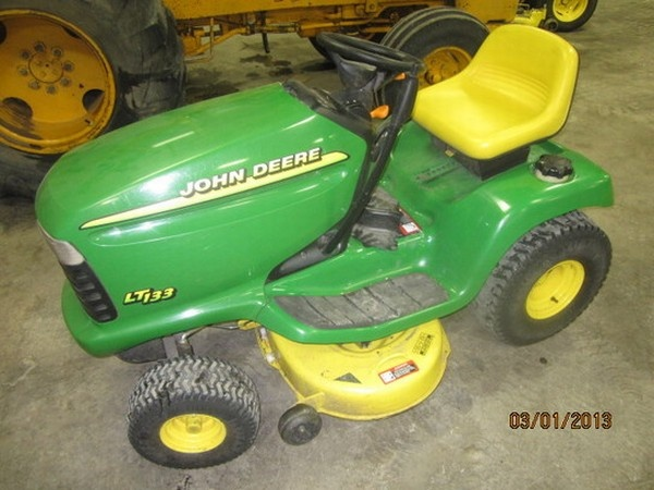 Evergreen Implement Company - John Deere LT133