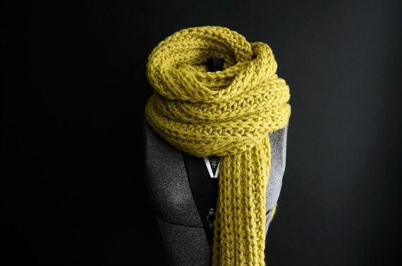KNITTING PATTERNInstant Download/THE ROPE/Stix by Kitty Dune/scarf