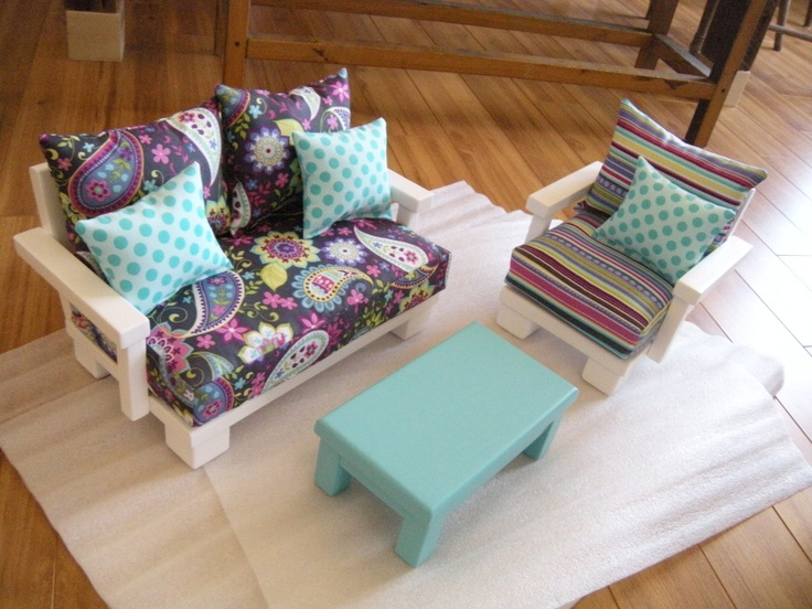 Living room furniture for american girl doll studio set 135 00