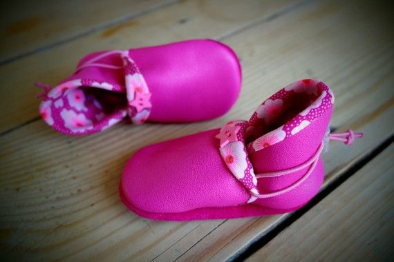 Pink pixies shoes - Eco leather slippers by Madkouch - www.madkouch.com