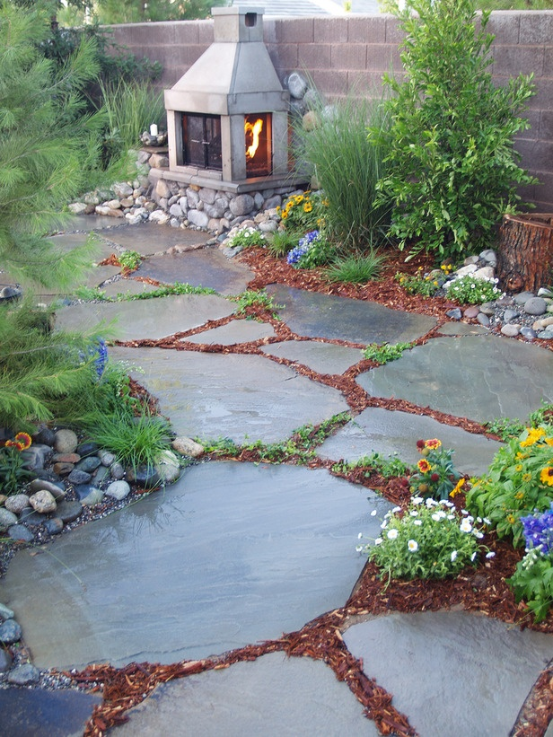 Bring warmth to your garden path or