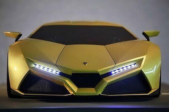 ''Lamborghini Cnossus '' MUST SEE 2017 Best New Concept car Of The Future