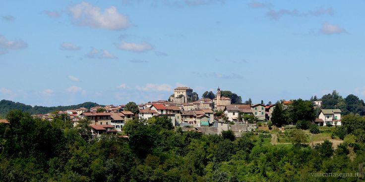 Il castello di Montaldeo visto da Parodi Ligure