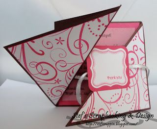 Cute thank you card - Stampin' up
