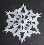 Creative ideas for you: Paper Snowflakes