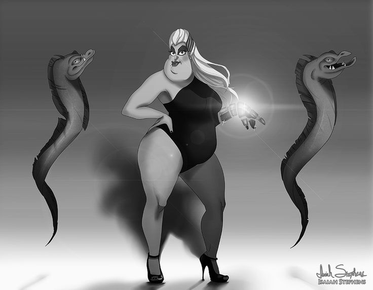 Disney Halloween: Ursula by IsaiahStephens