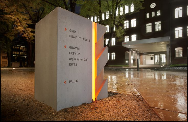 European Design - Signage System GREY Group