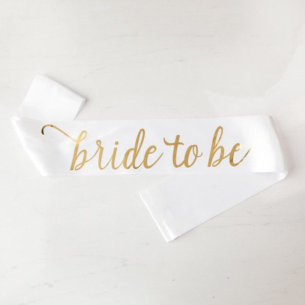 Bride to Be Sash #Bachelorette #bachelorette-party #bachelorette-sash