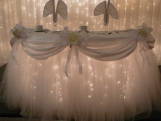 Fantasy Table Skirt (patented) | by SBD Events Planning