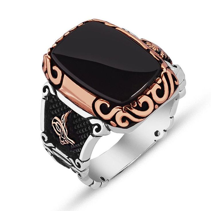 925 Ayar Gümüş Tasarım Oniks Taşlı Yüzük SATIN AL >>> http://goo.gl/KFRrJu Sipariş Hattı: 0850 346 50 46