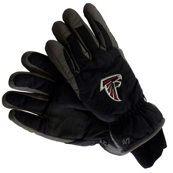 '47 Brand Atlanta Falcons Youth Carve Ski Gloves - Black - $27.99