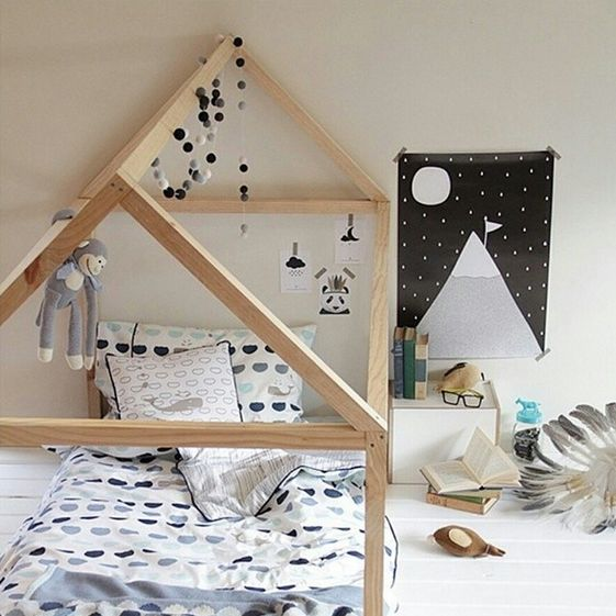 Some time ago, we found house-shaped structures in every trendy kids' room. They showed both natural tones and colours (from black ,to Nordic style to pink for the most romantic …