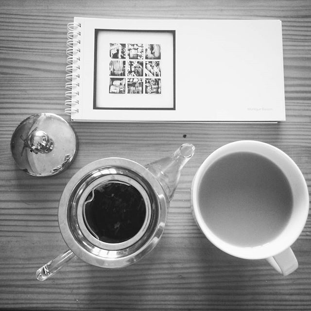 Nothing like some proper Black Chai and pretty art  #chai #art  #holidays #theteamerchant