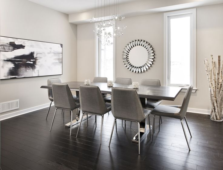 This is the Dining Room of the Bancroft model home at our Poole Creek community in Stittsville/Kanata.