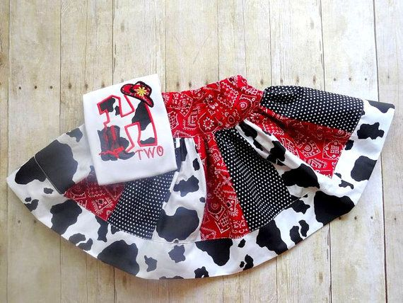 cowgirl birthday outfit birthday cowgirl by LightningBugsLane