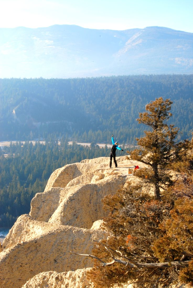 Hiking the hoodoos #FairmontHotSpringsResort #BCRockiesAdventures #hiking #hoodoos #guidedhikes #adventure #activities