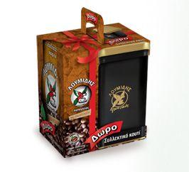 Loumidis Arhontikos Greek Coffee with Collectible Box