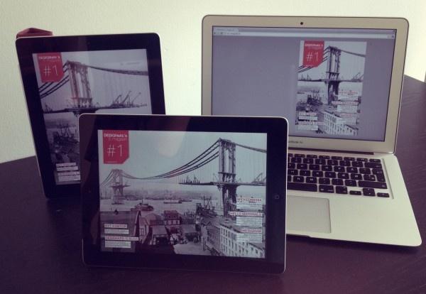DESIGNafd.'s første e-magasin