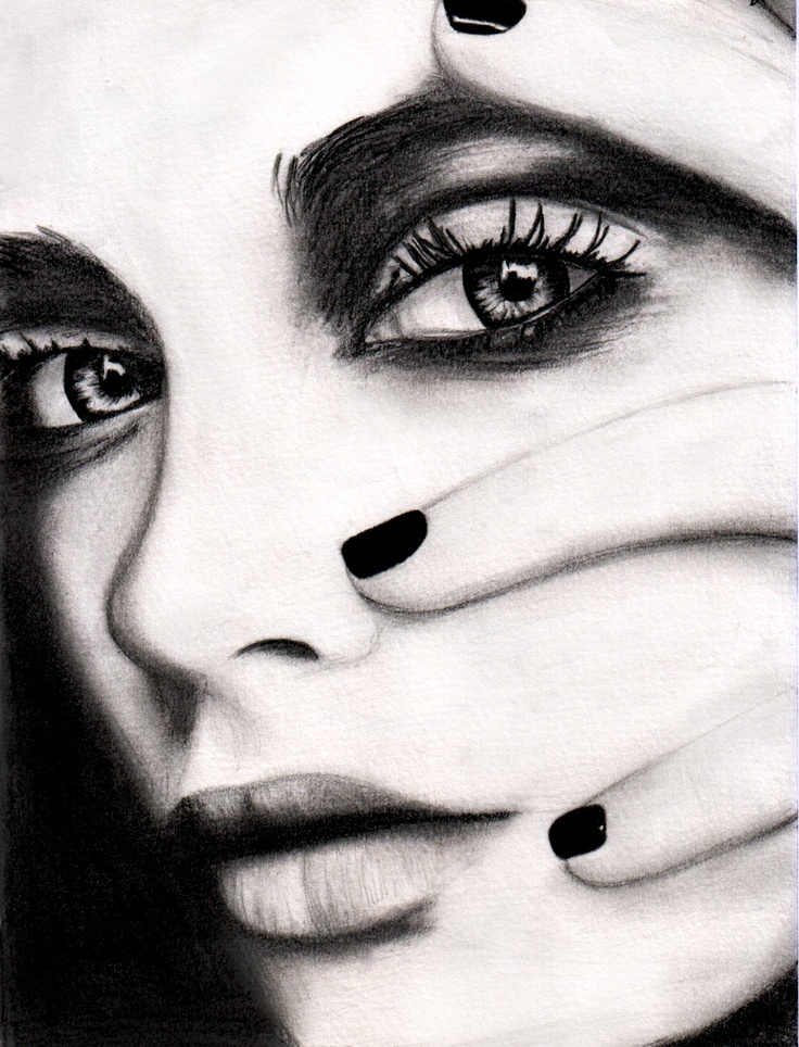 1000 images about stunning eyes misc on for Awesome face drawing