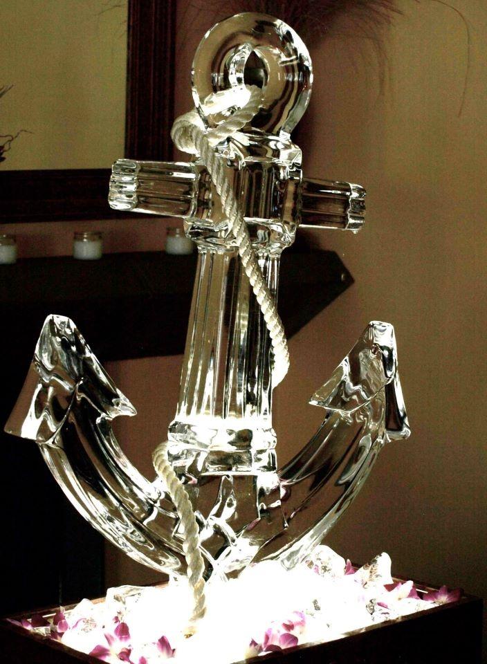 Anchor ice sculpture ;)