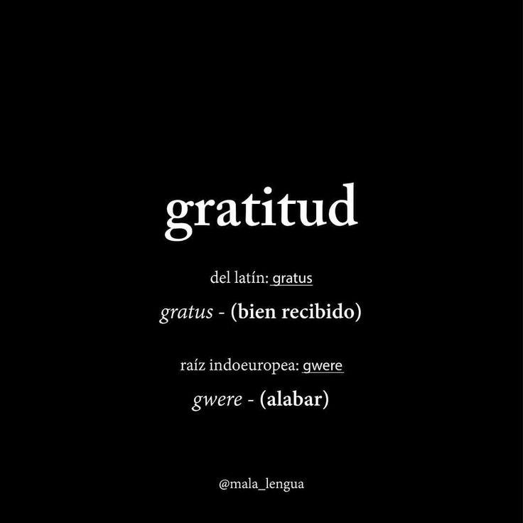 2016 gracias por tanto #gratitud #malalengua#etimologia#2017
