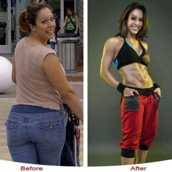 Before and After Weight Loss Success Story Photo