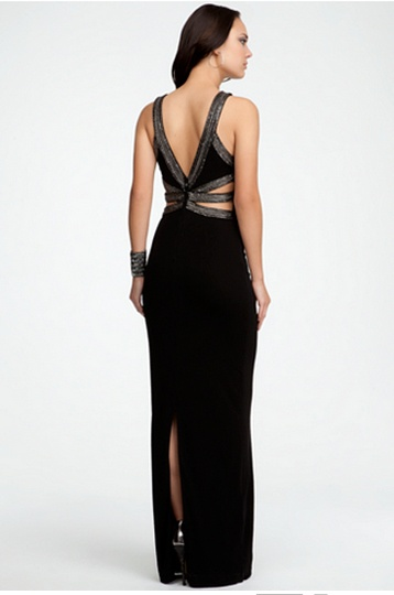 Boatneck Sexy Back Gown #bebeindonesia #bebe #summer #musthaves