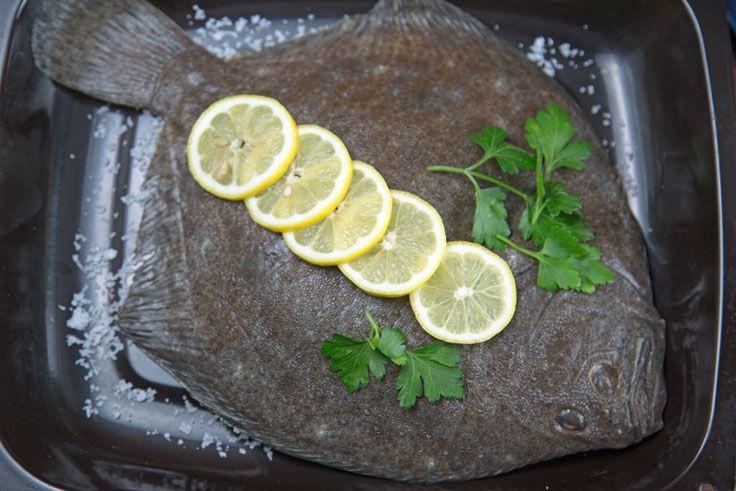 Turbot is probably the king of flat fish and is priced accordingly but it is real treat being firm fleshed, fine tasting and easy to handle. Our recipe is incredibly easy but it is the most popular way of cooking turbot in Sweden.
