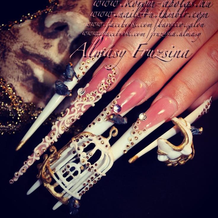 325 best nail art images on pinterest nail art designs nail kodi hungary competition special award topic carnival 2013 modell andrea engi nails postercarnivals3d nail artcrazy prinsesfo Images