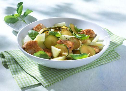 Zucchini salat orientalisch