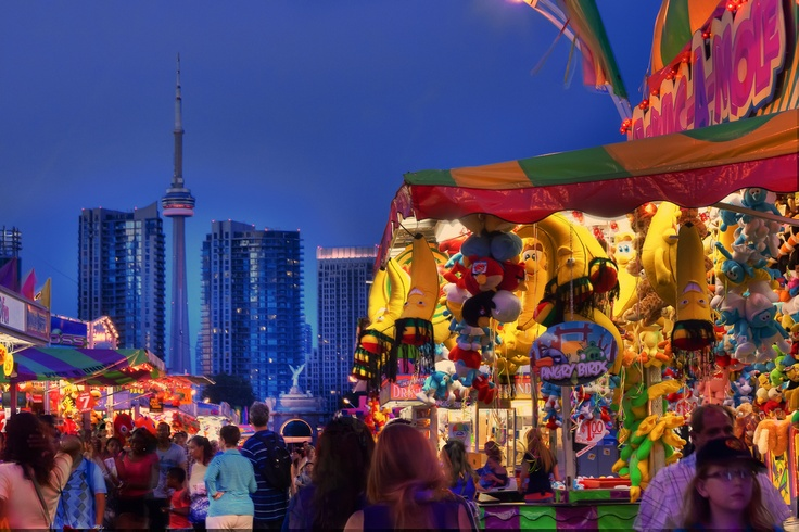 CNE Toronto, Canada. Let's me relive my youth!